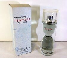 LAURA BIAGIOTTI TEMPORE UOMO AFTER SHAVE DOPOBARBA SPLASH 50ML.VINTAGE RARISSIMO