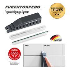 FUGENTORPEDO Basis-Set (Handstück, Fugenbürste, Schleifsteg 3mm) Fugenreiniger