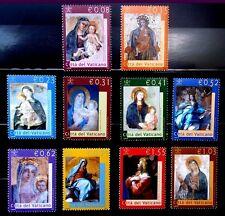 VATICANO 2002 1250/59 VIRGENES EN LA BASILICA VATICANA