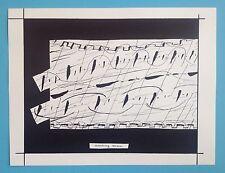 ILSE BING (1899-1998) Rare Offset Original de 1975 Authentique 40ans MUSIC