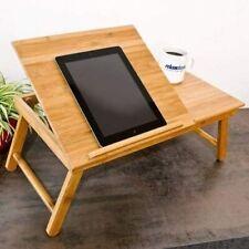 Bambus Laptoptisch Notebooktisch Tabletttisch Betttisch Ständer Höhenverstellbar