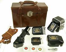 PANORAX Optical ZI 35 35mm panoramic camera Panorama Kamera 1959 45-360° top set