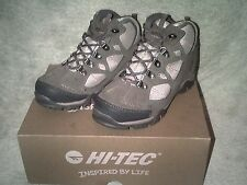 HI TEC RENEGADE TRAIL WP JR HOT GREY GIRLS / LADIES TRAINERS