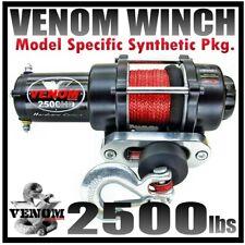 2500Lb Venom Atv Winch Polaris Sportsman 2011-20 400,500,570,800,1000