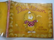 Dandelion, Don Freeman, SIGNED, Viking Press, 2nd Printing, DJ, 1964