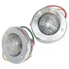 Vintage Clear Lens Back Up Parking Light Lamp Jeep Willys Cj Universal CDN