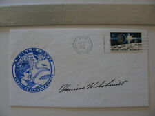 Authentic Harrison Schmitt Hand-Signed/Autographed Apollo 17 Postal Cover NASA
