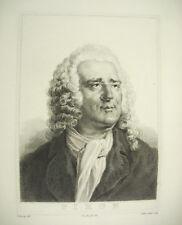 Alexis Piron poète, chansonnier, goguettier né à Dijon  Devéria Couché c1880