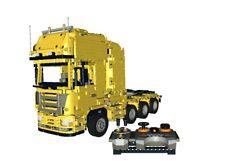 Der Scania® R730 8x4 Truck Bulding Instruction/Bauanleitung LEGO® Technic