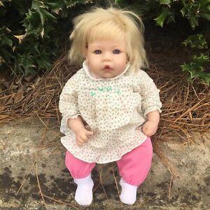 Lee Middleton 2002 Blonde Baby Girl Doll by Reva