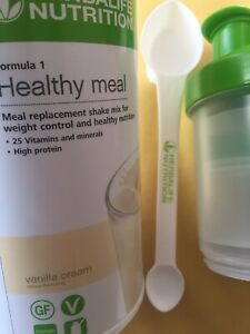 Herbalife Healthy Meal Shake Vanilla 550g Shaker and Spoon Brand New