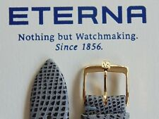 VINTAGE ETERNA GOLD BUCKLE FOR WATCH BAND WATCHBAND STRAP