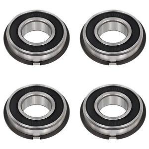 "Garage Door Torsion Spring Precision Bearings ID 1"" x OD 2"" - 4 Pack"