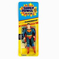 Vintage Kenner Super Powers Collection SUPERMAN Action Figure Short Card 1986
