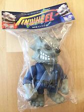 Gargamel Grey Pinwheel Sofubi Fight figure - Super7 RxH Secret Base - NEW