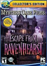 Mystery Case Files: Escape From Ravenhearst - Collector's Edition (PC, 2012) NEW