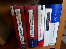absolut neuwertige Erstausstattung BWL Fachliteratur, 5 Bücher, u.a. Wöhe, 26.A.