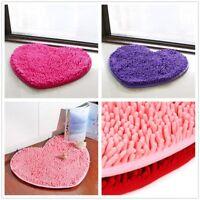 Lovely Heart Plush Soft absorbent Bedroom Bathroom Shower Bath Floor Mats Rugs