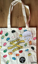 Harry Potter Canvas Tote Bag Bertie Bott's Every Flavour Beans Shopper NEW TAGS