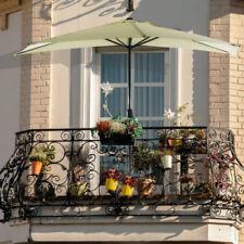 Damen-Balkonschirm runde Sonnenschirme