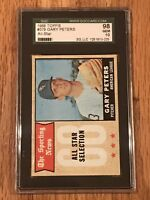 1968 GARY PETERS SGC 98 GEM MINT 10 TOPPS #379 ALL STAR - POP 1 HIGHEST