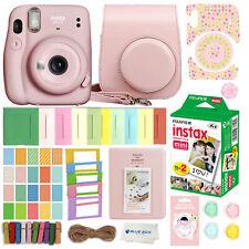 Fujifilm Instax Mini 11 Instant Camera (Blush Pink) 20 Fuji Films & Accessories
