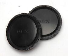 Für Sony Nex Objektivrückdeckel Körperobjektivdeckel Set Neu