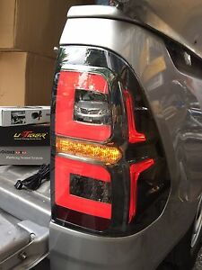 OEM for TOYOTA HILUX REVO M70 M80 2015-16 BLACK SMOKE LENS LED TAIL LAMP LIGHT