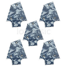 5pcs Truss Rod Cover For Ibanez JEM Guitars - Gray Pearloid 3ply