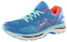 ASICS Women's GEL Nimbus 19 Running Shoes Diva Blue Flash Coral Size 10 US