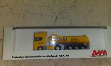 AWM LKW Scania 124L Kippmulden Szg  Wiehl Transporte + Baustoffe  in OVP