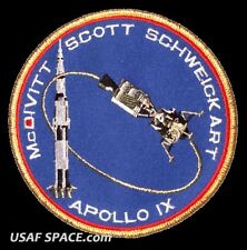 "Apollo 9 Mission Commemorative 5"" Tim Gagnon ORIGINAL AB Emblem NASA SPACE PATCH"