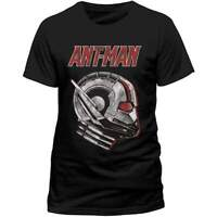 Official Licensed Ant-man And The Wasp Ant Profile T-Shirt Black T-Shirt