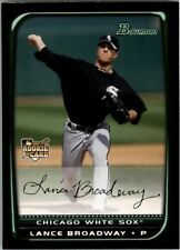 2008 Bowman Baseball #203 Lance Broadway RC Chicago White Sox
