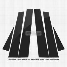 Glossy Black B C Pillar Post UV Coating Cover 6Pcs For PORSCHE 2003-2010 Cayenne