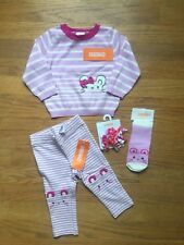 Gymboree Baby Girl 6-12m Mousing Around Outfit ,4 Piece Set NEW