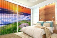3D Welle Weide 788 Blockade Foto Vorhang Druckvorhang Vorhänge Stoff Fenster DE