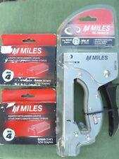 New Miles Staple Gun Plus 2500 Staples