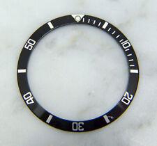 Genuine Service Rolex Submariner 5512 5513 1680 Black Watch Bezel Insert