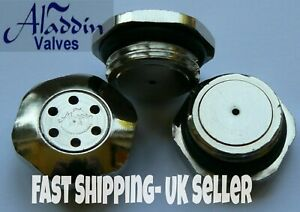 "HV30 Radiator Valves, Self Bleeding Aladdin Valve Auto Vent 1/2"" BSP 1 Unit"