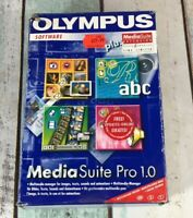 Olympus Media Suite Pro 1.0 Vintage Software Big Box Windows 95 Sp2 98 Nt 4.0