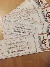 Cavs Ticket Stubs