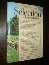 SELECTION DU READER'S DIGEST - Octobre 1958 - Photo Scouts de France couverture
