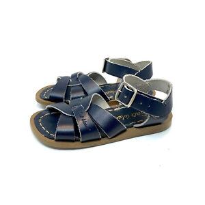 Sun-San Salt Water Sandals Navy Blue Kid's Size 7 US