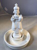 "Lefton holy water holder jesus infant of prague Religious Statue Crazing 6"""