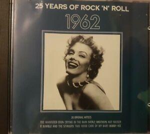 25 Years of Rock 'N' Roll 1962 - CD Album - 20 Tracks