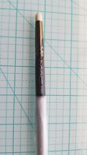 MAC COSMETICS LIMITED ED GRAY PENCIL BRUSH 219SE 219 SE TRAVEL EYESHADOW CREASE