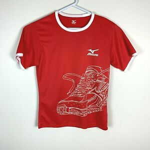 Mizuno Red Running Lightweight Shirt Size Men's Medium