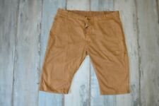 G- STAR MEN'S BROWN/BEIGE SHORTS_size W38