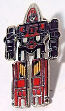 1985 GoBots Fitor Enameled Pinback LM Dist. EXC Condition ULTRA RARE